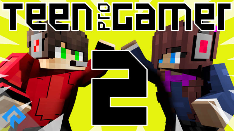 Teen ProGamer 2 on the Minecraft Marketplace by RareLoot
