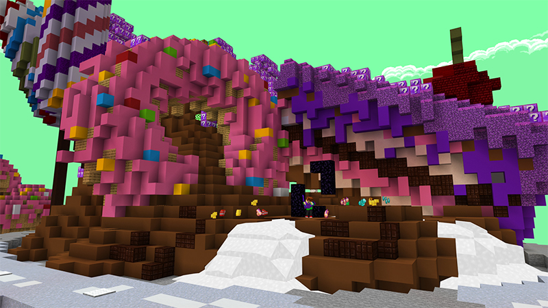 Candy Lucky Skyblock by Diluvian