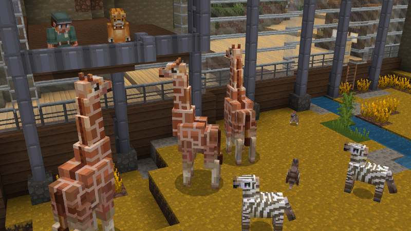 Mine Zoo on the Minecraft Marketplace by Cyclone