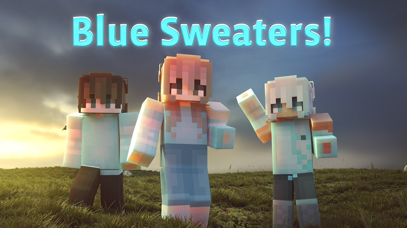 Blue Sweaters on the Minecraft Marketplace by Nitric Concepts
