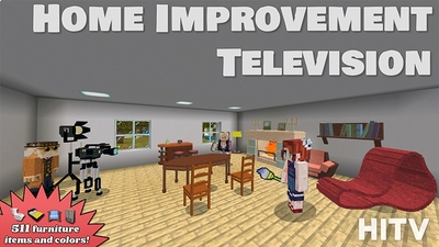 Home Improvement Television on the Minecraft Marketplace by Lifeboat