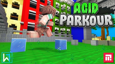 Acid Parkour on the Minecraft Marketplace by Waypoint Studios
