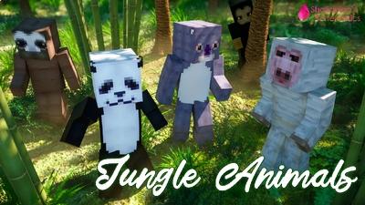 Jungle Animals on the Minecraft Marketplace by Shaliquinn's Schematics