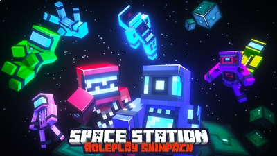 Space Station Astronauts on the Minecraft Marketplace by Owls Cubed
