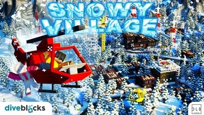 Snowy Village on the Minecraft Marketplace by Diveblocks