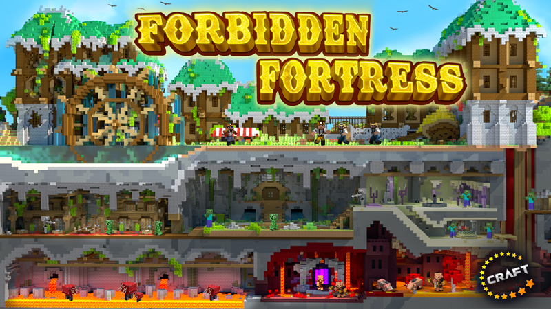 Forbidden Fortress on the Minecraft Marketplace by The Craft Stars