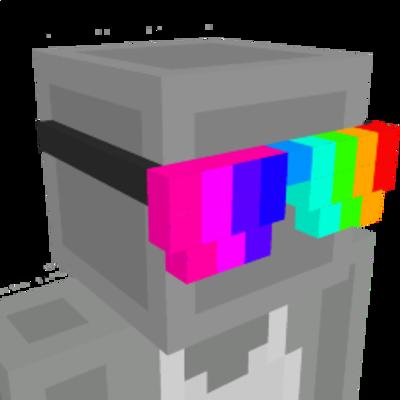 Rainbow Sunglasses on the Minecraft Marketplace by 4KS Studios