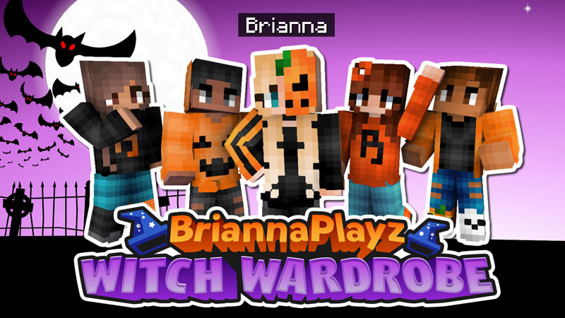 BriannaPlayz Witch Wardrobe on the Minecraft Marketplace by Meatball Inc