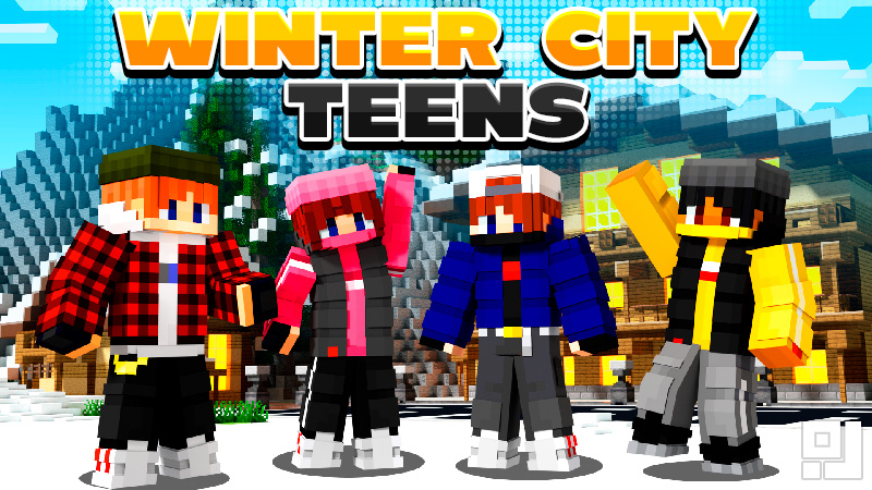 Winter City Teens on the Minecraft Marketplace by inPixel