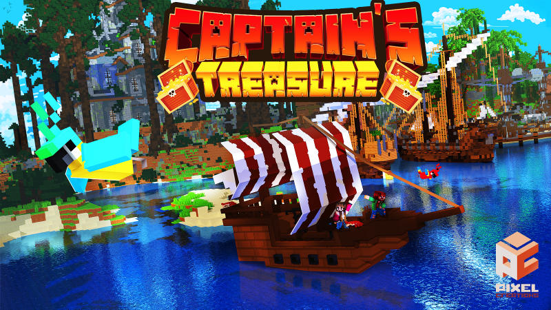 Captains Treasure on the Minecraft Marketplace by BLOCKLAB Studios