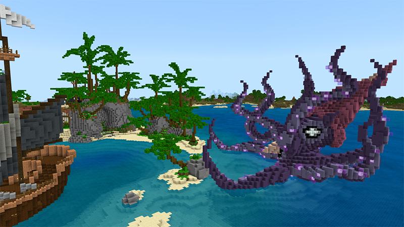 Pirate Kraken Island by Diluvian