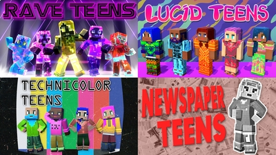 Teen Bundle on the Minecraft Marketplace by House of How