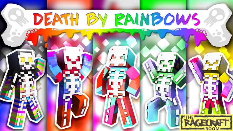 Death by Rainbows on the Minecraft Marketplace by The Rage Craft Room