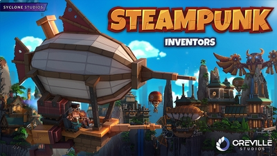 Steampunk Inventors on the Minecraft Marketplace by Syclone Studios