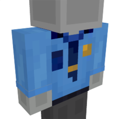 Police Shirt on the Minecraft Marketplace by GoE-Craft