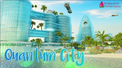 Quantum City on the Minecraft Marketplace by Shaliquinn's Schematics