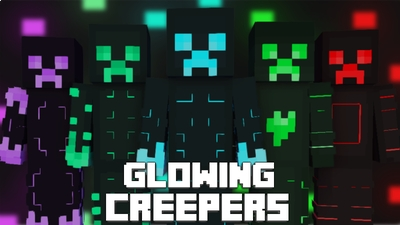 Glowing Creepers on the Minecraft Marketplace by Pixelationz Studios