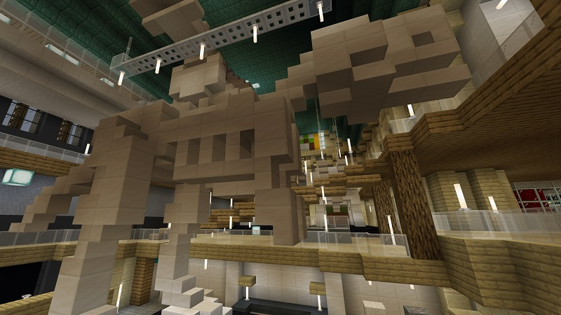 The Museum on the Minecraft Marketplace by Nitric Concepts