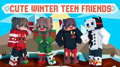 Cute Winter Teen Friends on the Minecraft Marketplace by Podcrash