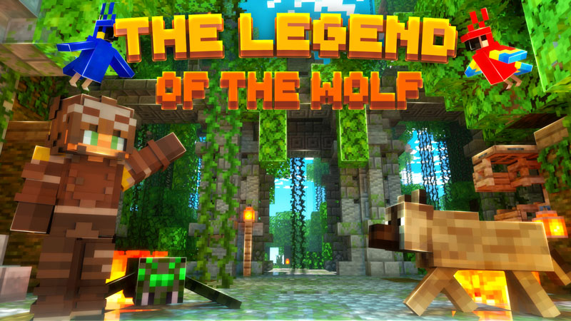 The Legend of the Wolf on the Minecraft Marketplace by Scai Quest