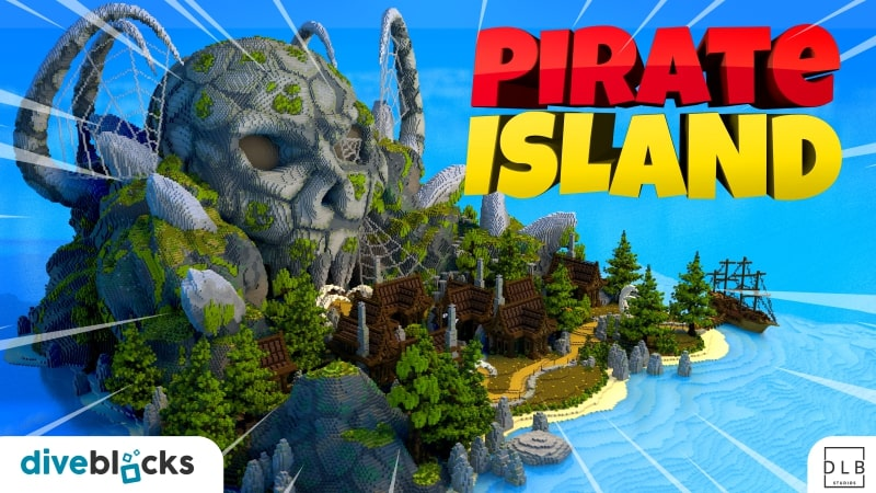 Pirate Island on the Minecraft Marketplace by Diveblocks
