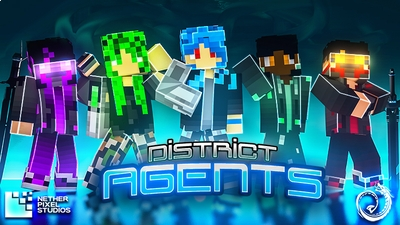 District Agents on the Minecraft Marketplace by Netherpixel