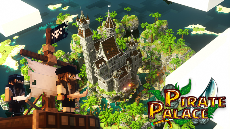 Pirate Palace on the Minecraft Marketplace by Diluvian