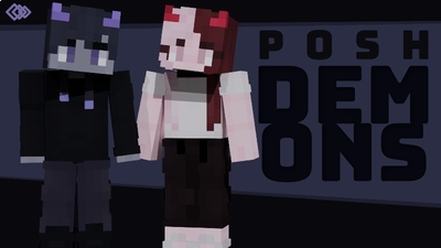 Posh Demons on the Minecraft Marketplace by Tetrascape