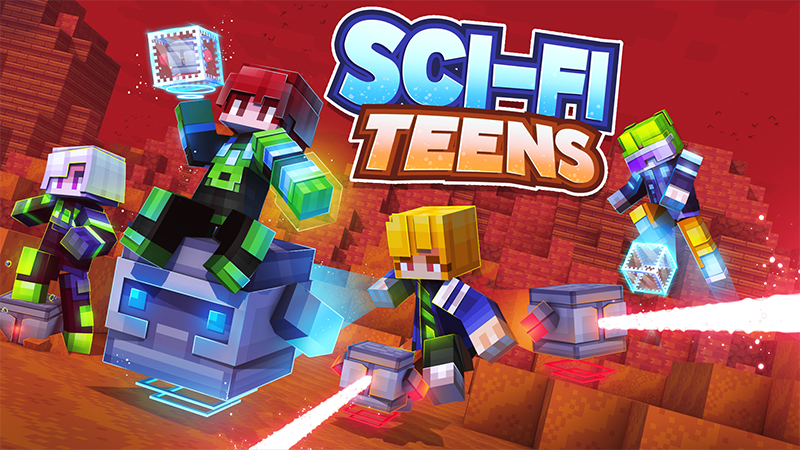 Scifi Teens on the Minecraft Marketplace by Norvale