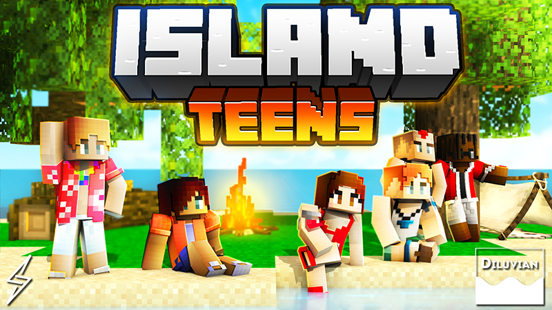 Island Teens on the Minecraft Marketplace by Diluvian