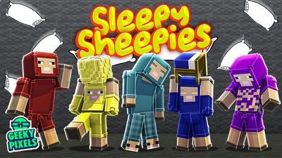Sleepy Sheepies on the Minecraft Marketplace by Geeky Pixels