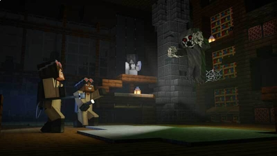 Ghost Hunters on the Minecraft Marketplace by CubeCraft Games