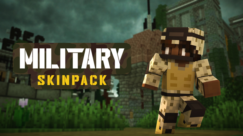 Military Skin Pack on the Minecraft Marketplace by Blockception