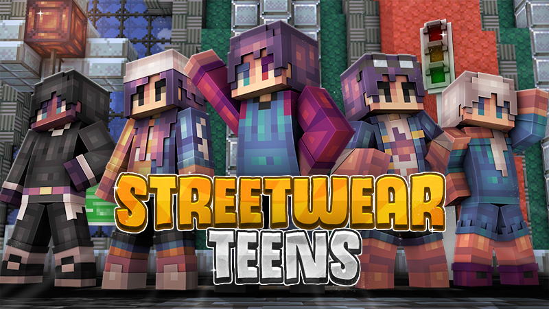Streetwear Teens on the Minecraft Marketplace by Cynosia