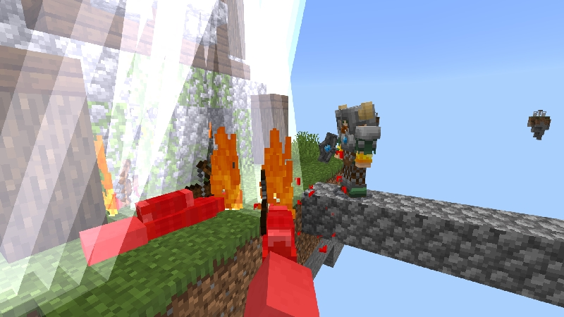 Skyblock with Thor by VoxelBlocks