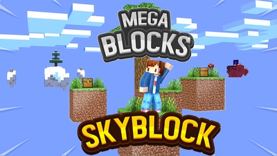 Mega Blocks Skyblock on the Minecraft Marketplace by Fall Studios