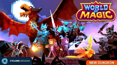 World of Magic on the Minecraft Marketplace by Cyclone