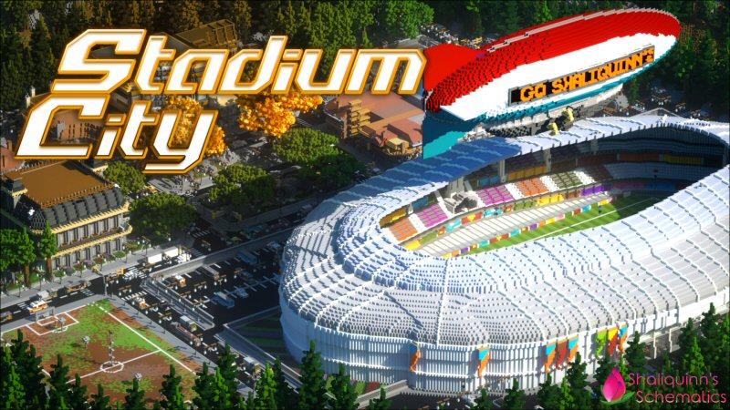 Stadium City on the Minecraft Marketplace by Shaliquinn's Schematics