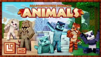 Animals HD on the Minecraft Marketplace by Pixel Squared