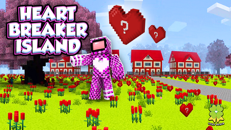 Heartbreaker Island on the Minecraft Marketplace by The Lucky Petals