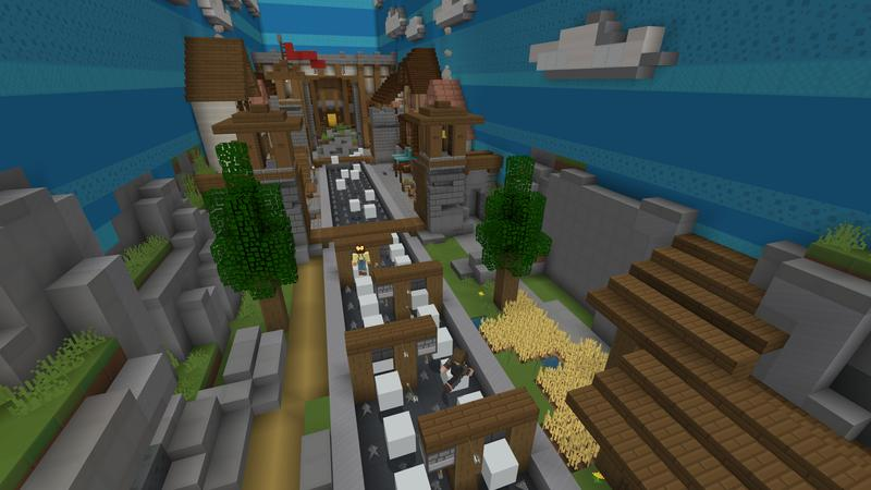 Moving Parkour on the Minecraft Marketplace by Cubed Creations