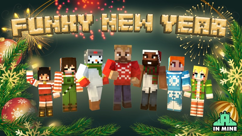 Funky New Year on the Minecraft Marketplace by In Mine