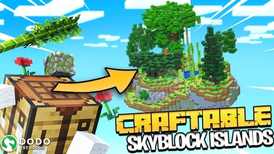 Craftable Skyblock Islands on the Minecraft Marketplace by Dodo Studios