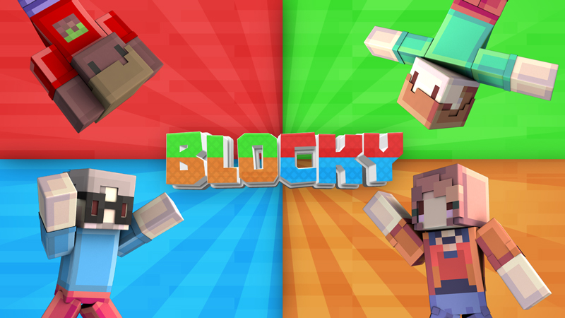 Blocky Skin Pack on the Minecraft Marketplace by Blockception
