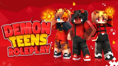 Demon Teens Roleplay on the Minecraft Marketplace by BLOCKLAB Studios