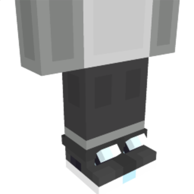 Black Sneakers on the Minecraft Marketplace by NovaEGG