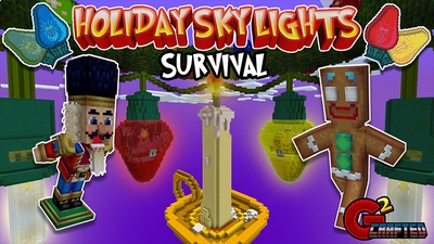 Holiday Sky Lights Survival on the Minecraft Marketplace by G2Crafted
