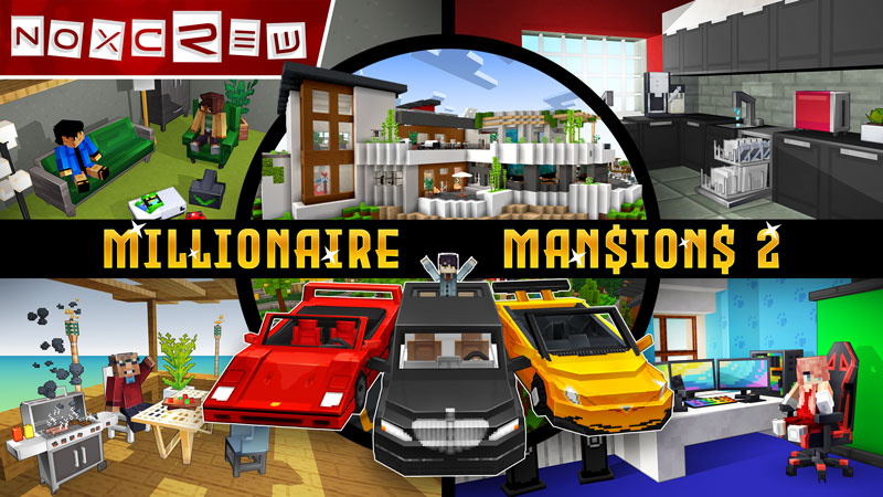 Millionaire Mansions 2 on the Minecraft Marketplace by Noxcrew