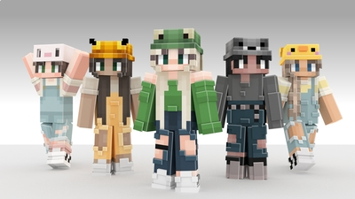 Animal Hats on the Minecraft Marketplace by NovaEGG