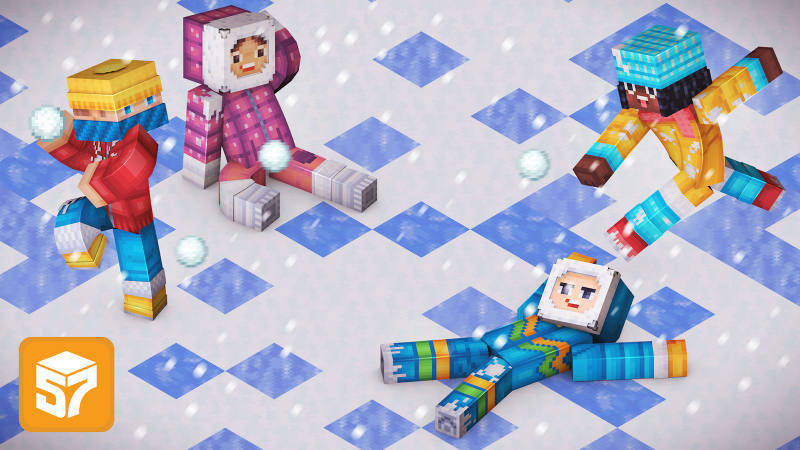 Play Snowball Fight Skin Pack